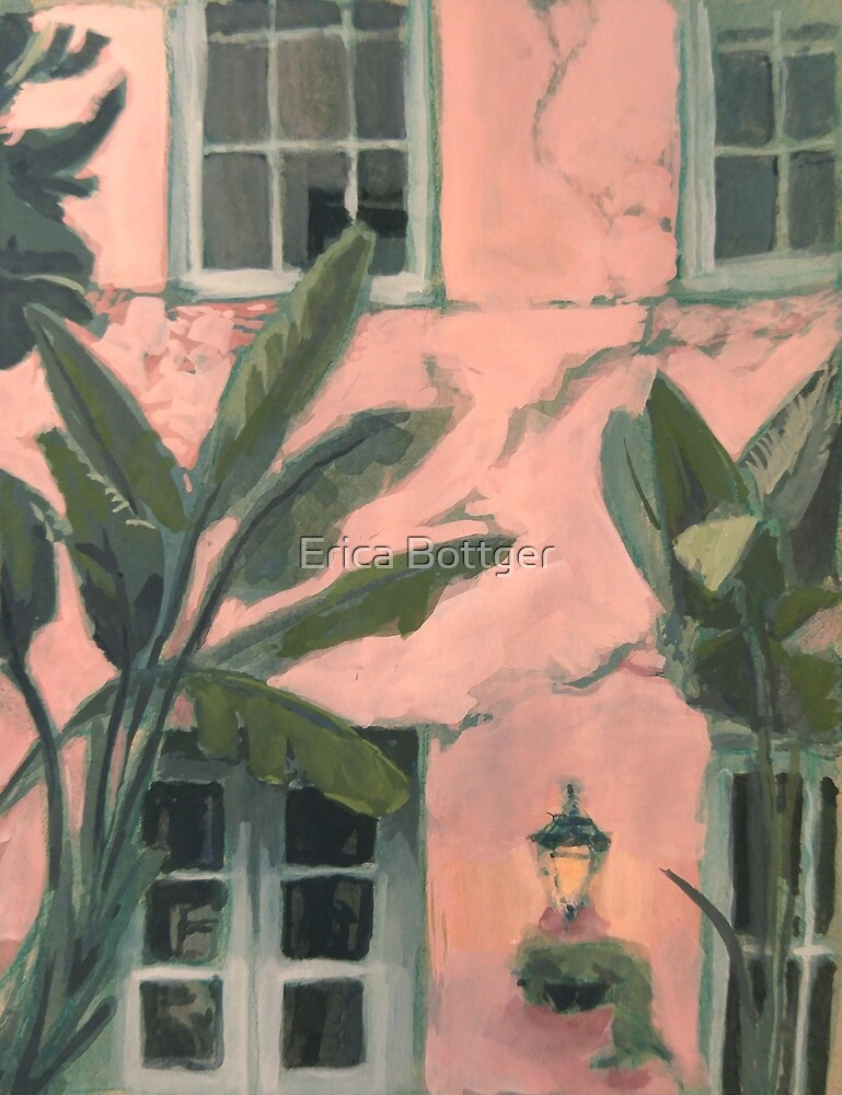 New Orleans Pink Afternoon by Erica Bottger