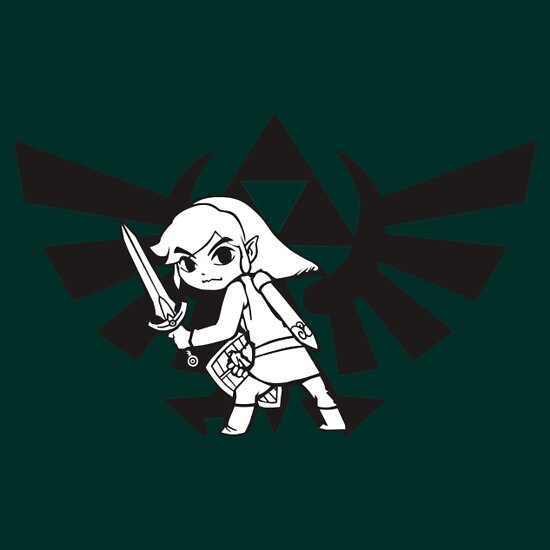 TShirtGifter presents: Link and Triforce