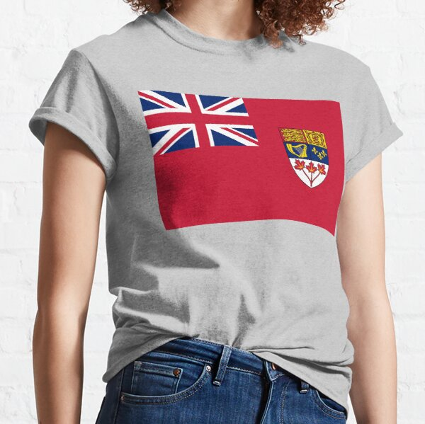 Canada Red Ensign Flag vintage canadian symbol HD High Quality Online Store Classic T-Shirt