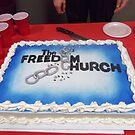 Freedom Church 1 year Anniversary Cake by Charldia