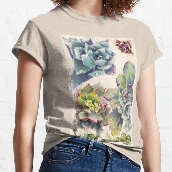 Summer Succulents Classic T-Shirt