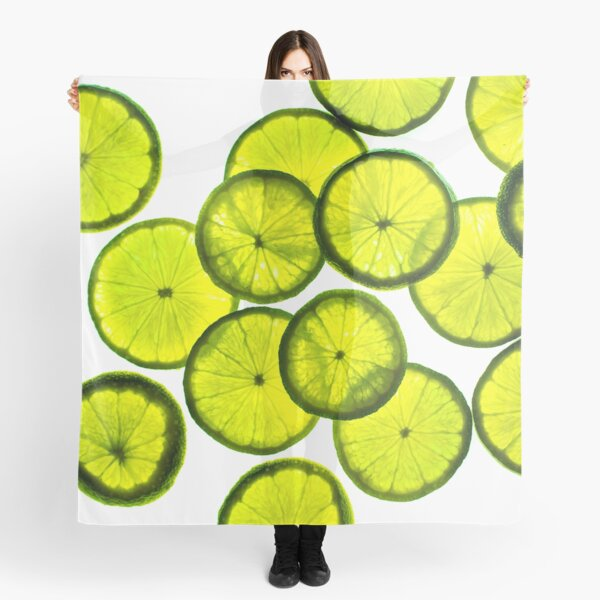 Green limes Scarf