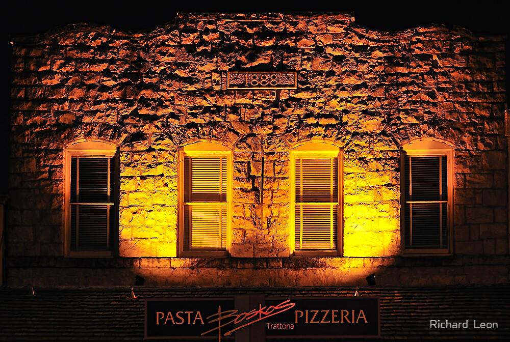 Boskos • Pasta & Pizza • 1888? Calistoga, California by Richard  Leon