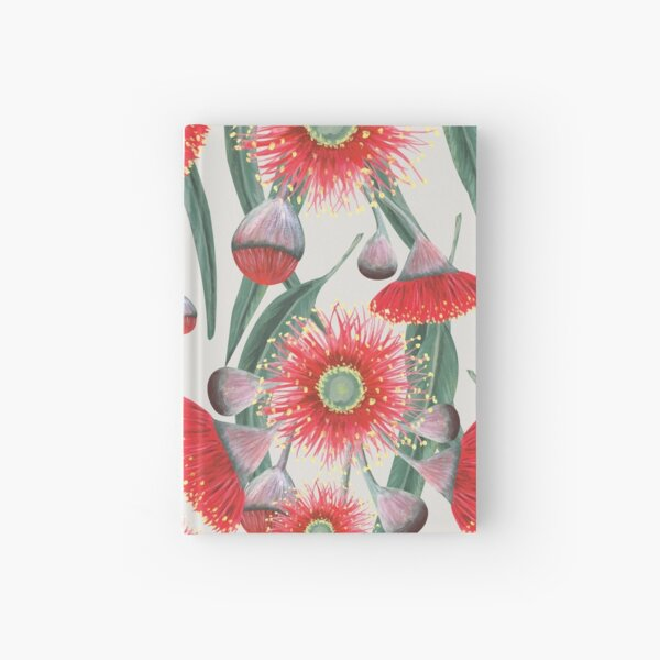 Gum Flowers and Leaves  Hardcover Journal
