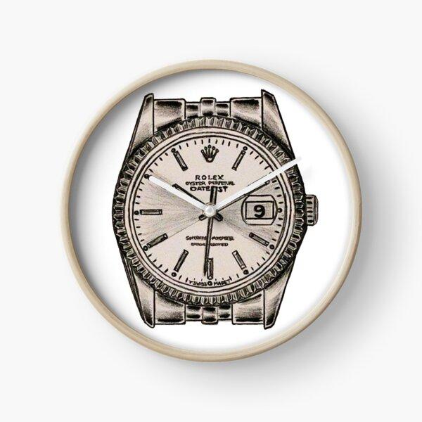 Pure Rolex Datejust Clock