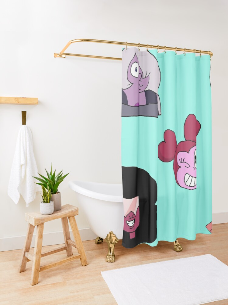 Alternate view of Steven Universe The Movie Shower Curtain