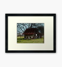 Dollhouse Cabin Framed Print