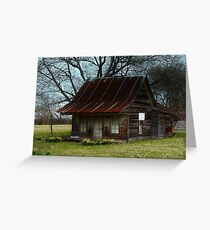 Dollhouse Cabin Greeting Card