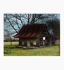 Dollhouse Cabin Photographic Print