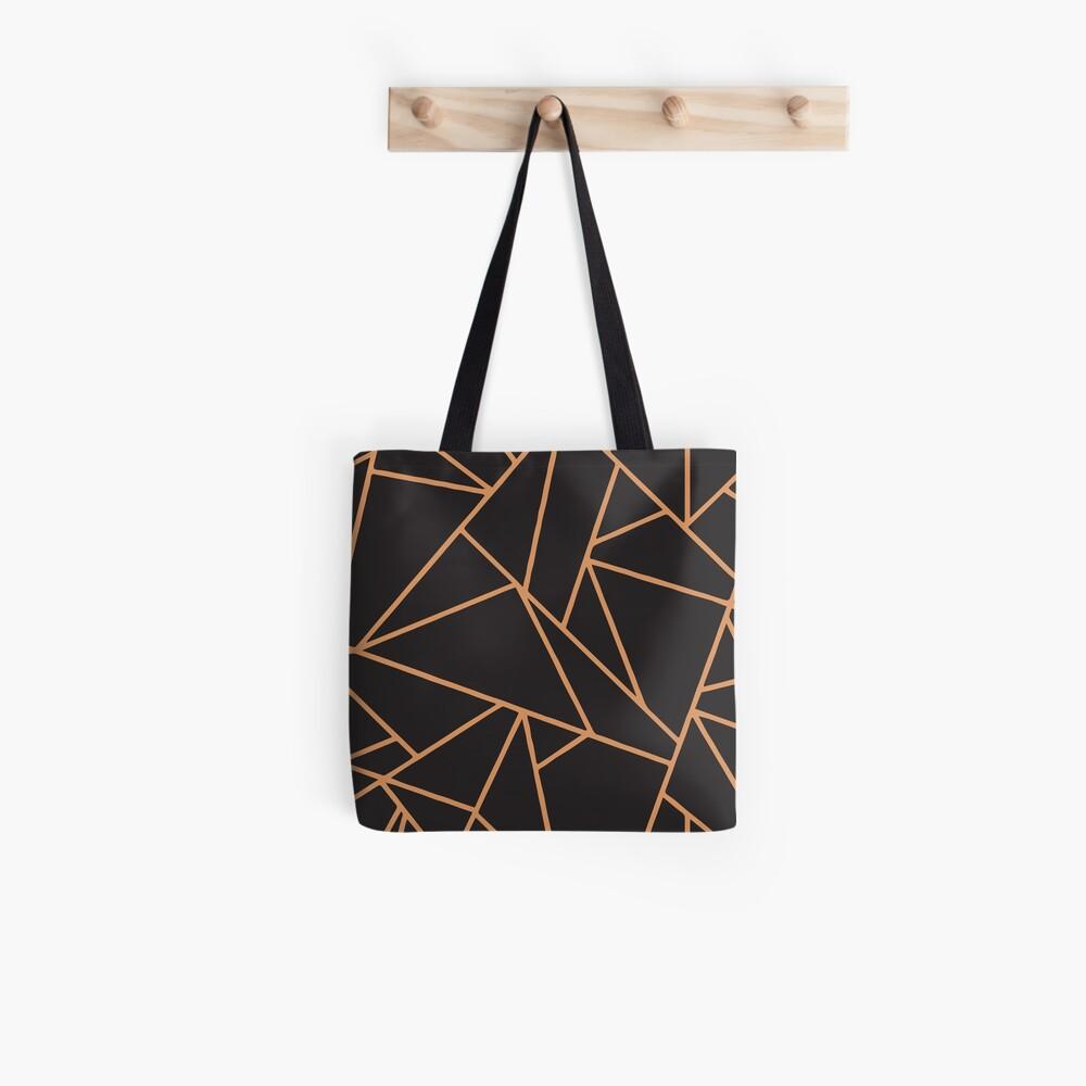 Copper Lines  Tote Bag