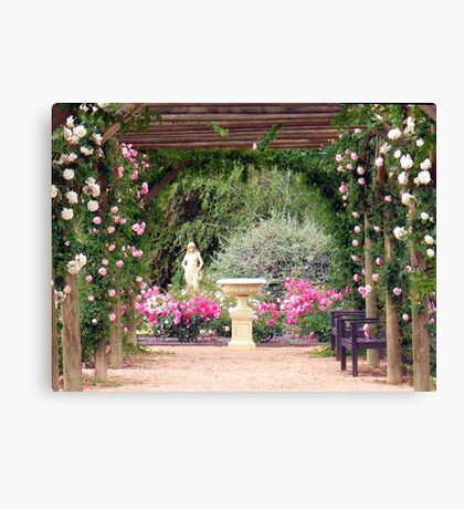 Scented Colonnade Canvas Print