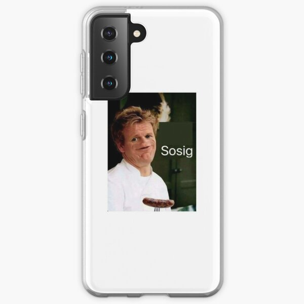 Gordon Ramsay meme Samsung Galaxy Soft Case
