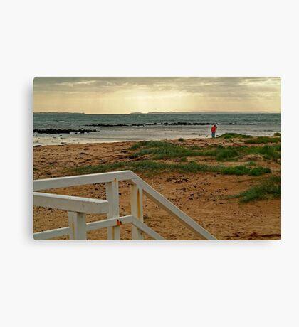 View from Barwon Heads to the Rip Canvas Print