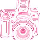 Pink Cute Pastel Camera by XOOXOO