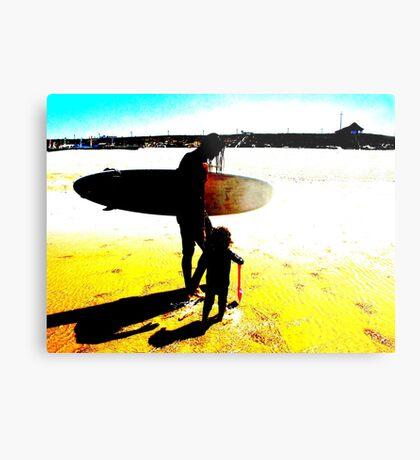 Surf Generations Metal Print