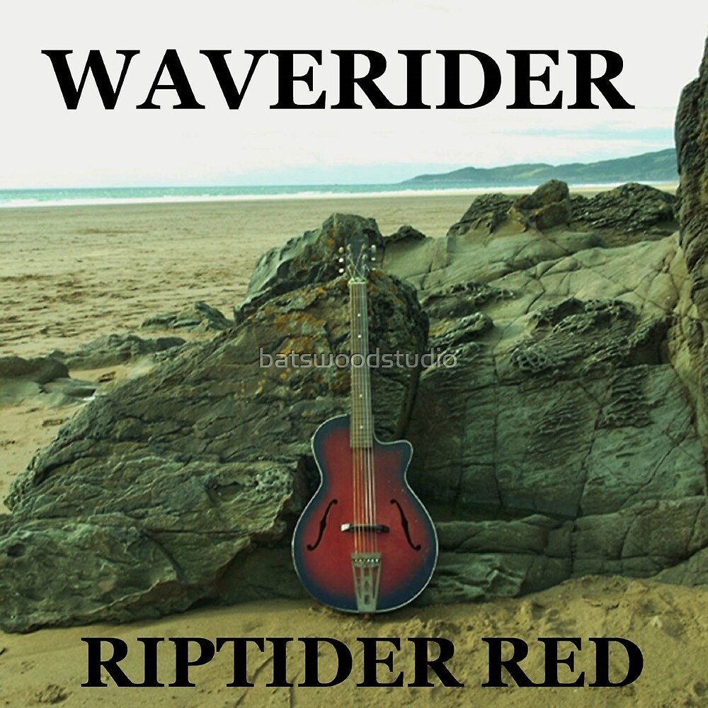 Waverider Cover Design by Riptider Red by batswoodstudio