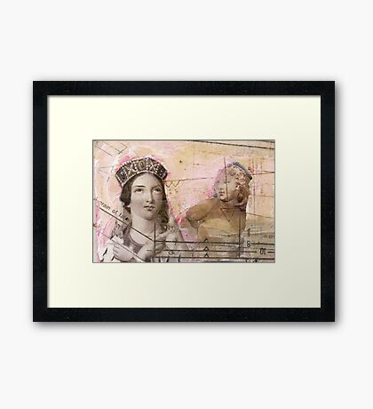 The crown, 2011 Framed Print