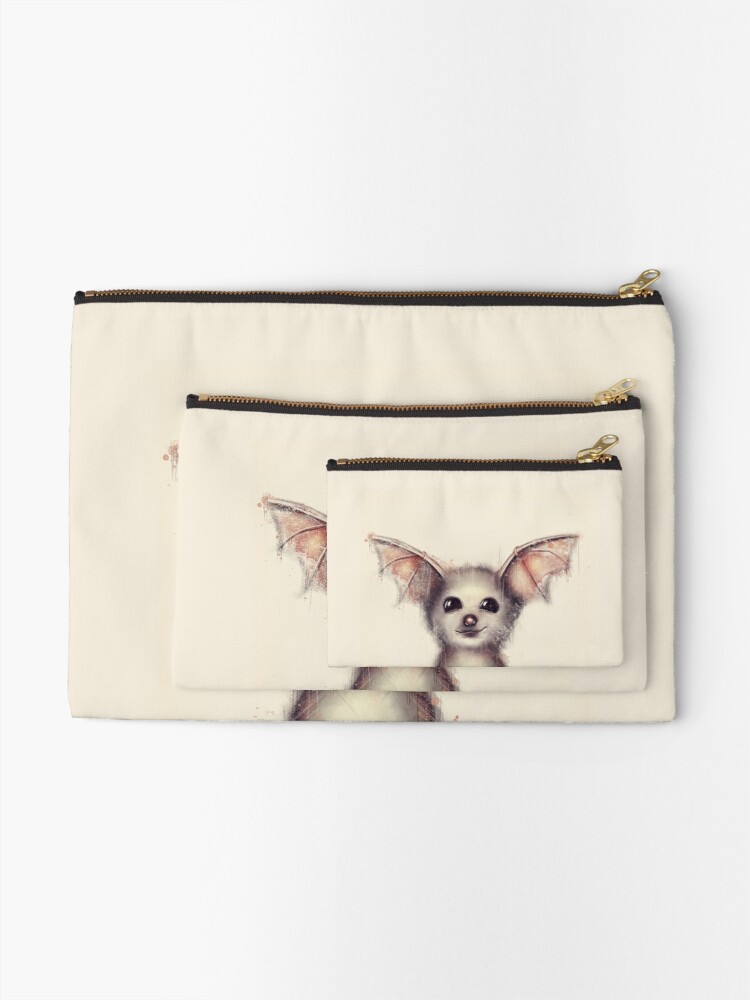 Alternate view of What the Fox? Zipper Pouch