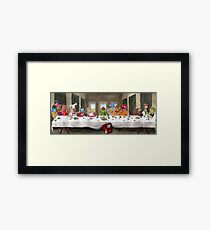 The Last Mupper Framed Print