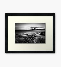 Bamburgh at High Tide Framed Print