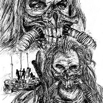 Mad Max Immortan Joe Collage by BGauntlett