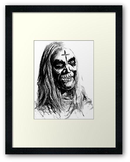 Otis Driftwood House Of 1000 Corpses Framed Prints By Bgauntlett