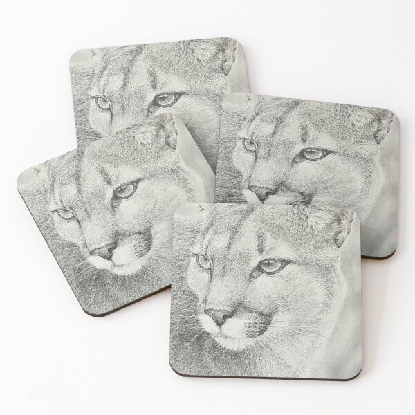 The cougar Coasters (Set of 4)