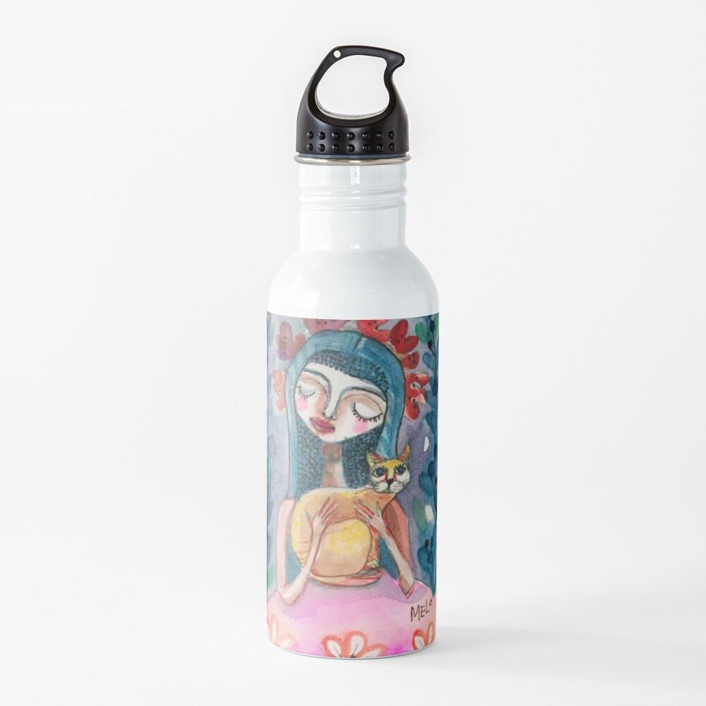Cat Woman Water Bottle