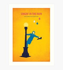 Singin 'in the Rain Art Print