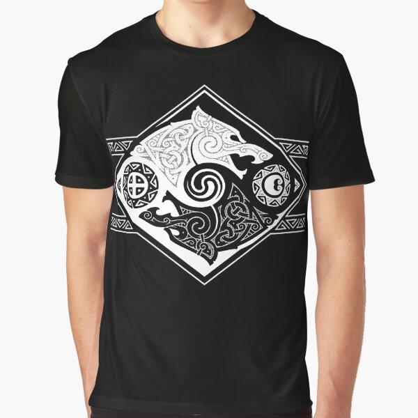 HATI AND SKOLL Graphic T-Shirt