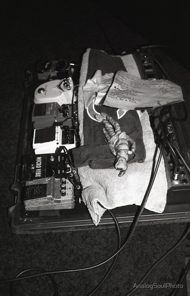 Joel DaSilva's Pedal Board by AnalogSoulPhoto
