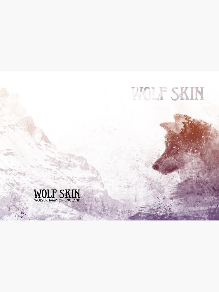 Sketchy Wolf Hardcover Journal by danbadgeruk