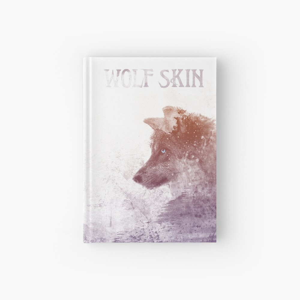 Sketchy Wolf Hardcover Journal Hardcover Journal