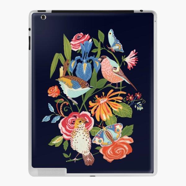 Garden birds and butterflys iPad Skin