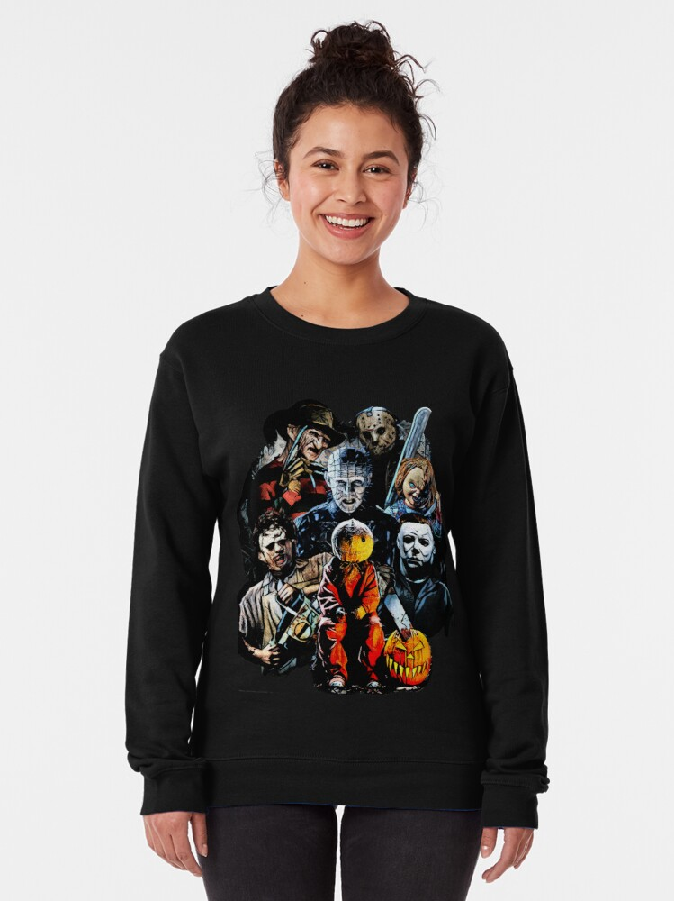 Alternate view of Horror Pullover Sweatshirt