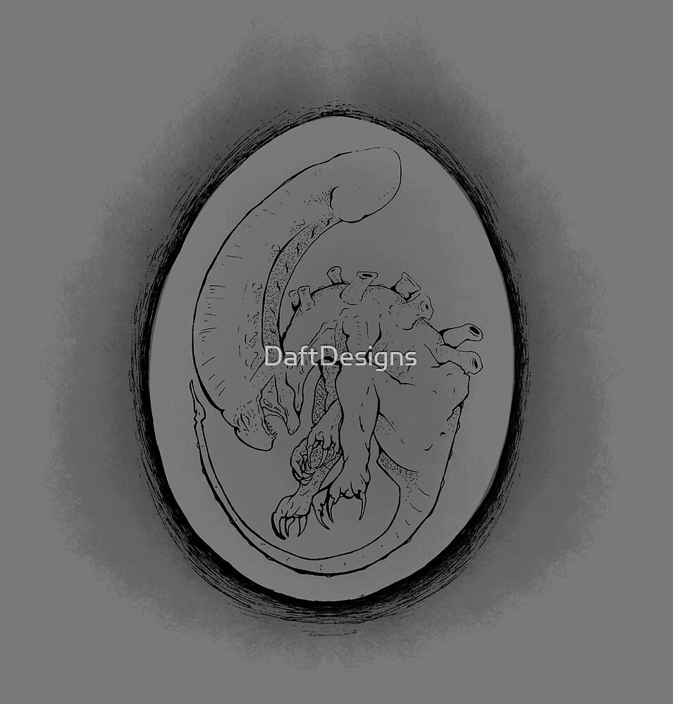 Alien Egg by DaftDesigns