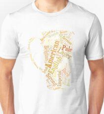 Beer Word Cloud T-Shirt