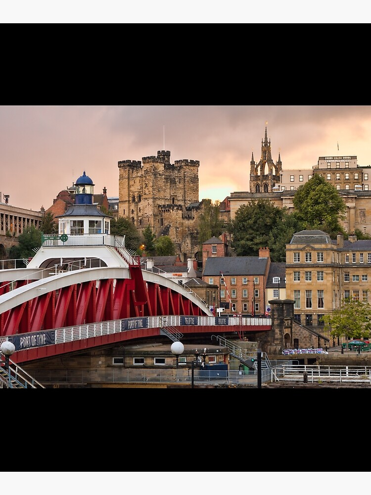 Swing Bridge and Castle Keep, Newcastle, Tyne and Wear by robcole