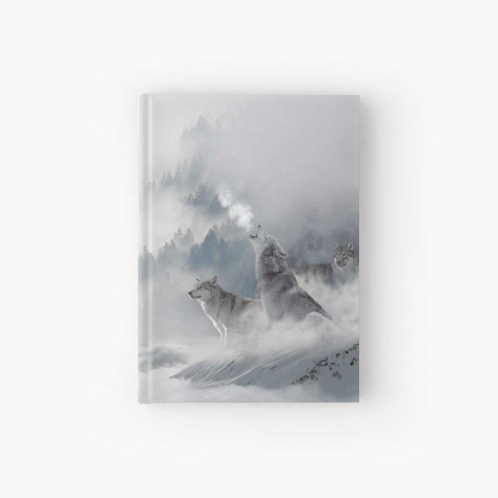 Snowscape Wolves Hardcover Journal Hardcover Journal