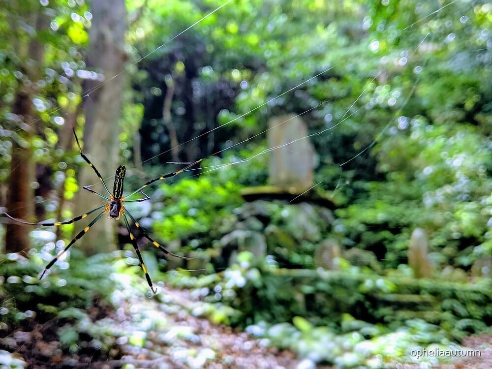 Guardian Jorō Spider in Japan by opheliaautumn