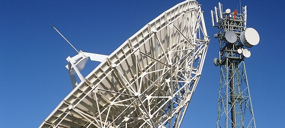 Benefits satellite uplink that is designed to manage your resources. by Swiss-Cast