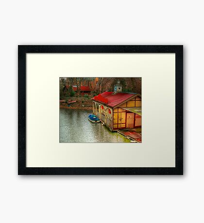 Old Canal House Framed Print