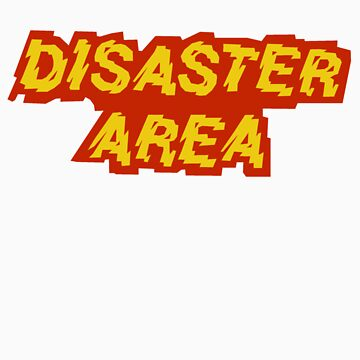 Disaster Area band t-shirt by CristinaS91