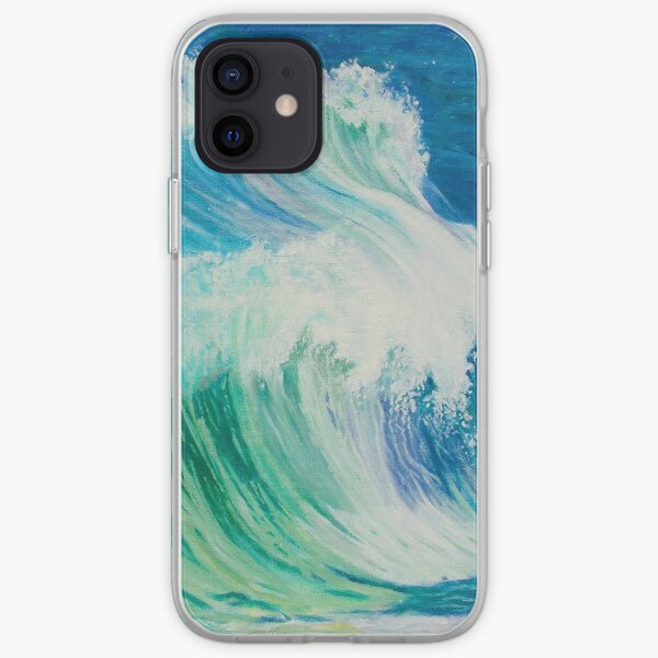 Dancing Waves iPhone Soft Case