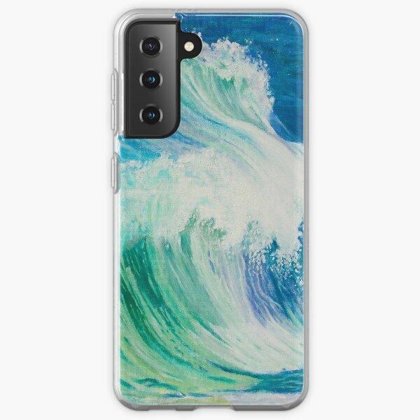 Dancing Waves Samsung Galaxy Soft Case