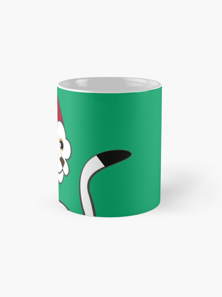 Vista alternativa de Taza Elf Stoat Xmas Green