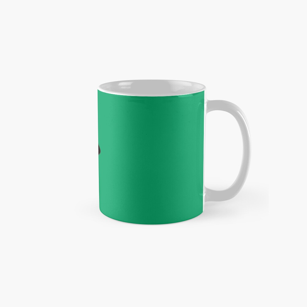 Elf Stoat Xmas Green Taza