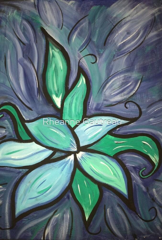 Water flowers by Rheanne Gautreau