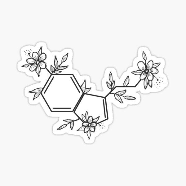 Autocollant sérotonine Sticker