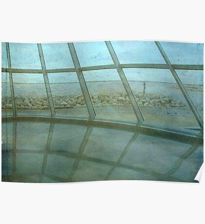 MAM...Milwaukee Art Museum...indoors ©  Poster